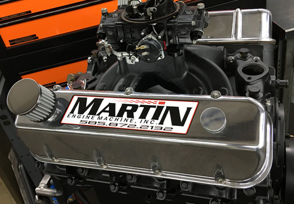 About Martin Engine Machine
