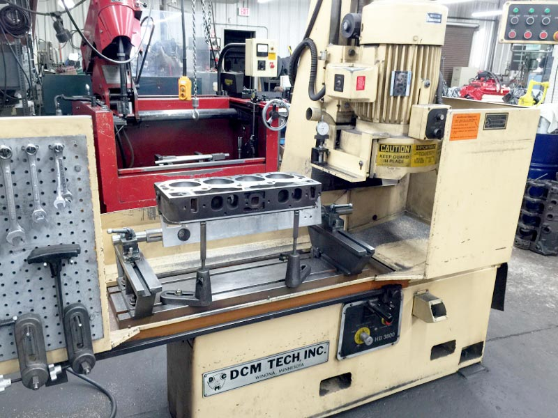 DCM 3800 Head and Block Resurfacer